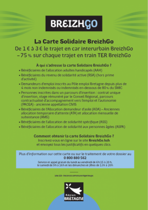 CARTE SOLIDAIRE 2